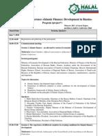 Islamic Finance Conference Programm Eng