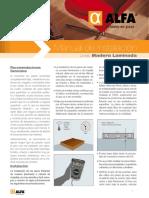 Manual de Instalación de Madera Laminada ALFA
