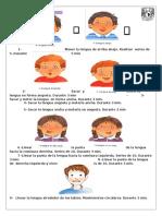 Ejercicios lenguaje dibujos