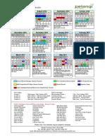 final pelangi calendar 2016-17