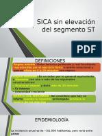 SICA Sin Elevación Del Segmento ST
