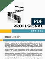 Ética Profesional y Licencias