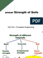 Shear Strength of Soil