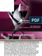 Banquet Personnel Presentation