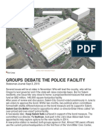 Groups Debate the Salem Police Facility