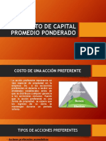 Costo de Capital Promedio Ponderado