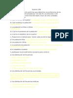 Ejercicios de Estadística DPTMNT