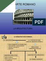 La Arquitectura Romana