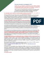 ESCALA; Movilidad Académica Para Docentes e Investigadores_2017