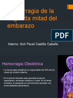 Hemorragia Segunda Mital Del Embarazo