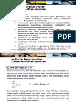 07-Indikator Ekonomi Kelaikan Projek POT,NPV,IRR