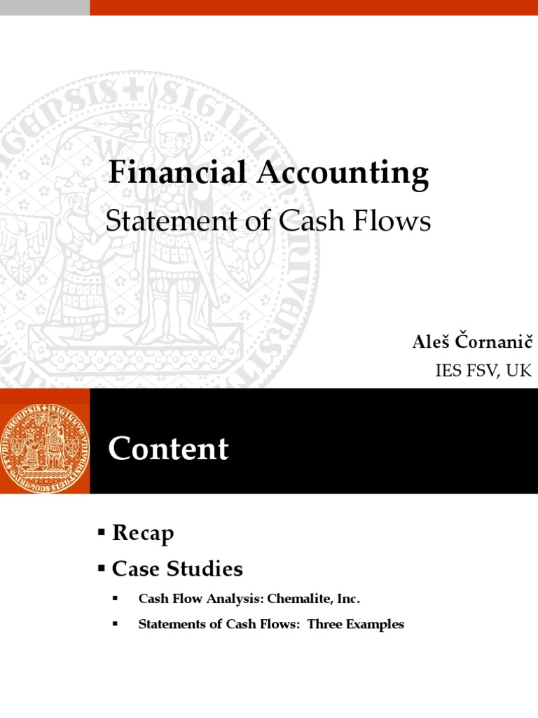 statements of cash flows three examples
