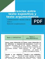 ZZ03 Exposicion vs Argumentacion -Material Complementario- 37768
