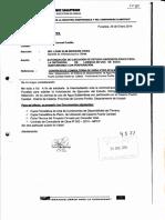 Autorizacion para estudio hidrologico