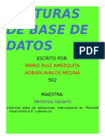 Capturas de Base de Datos