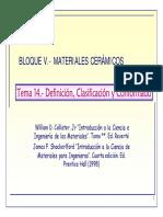 Tema14-Definicion Calificacion Mat Ceramicos