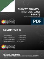 Survey gravity.pptx