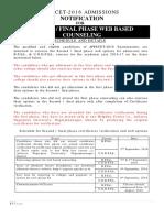 AP Pecet Notification Phase 2