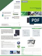 Luminous 1 Solar Panel Catalogue
