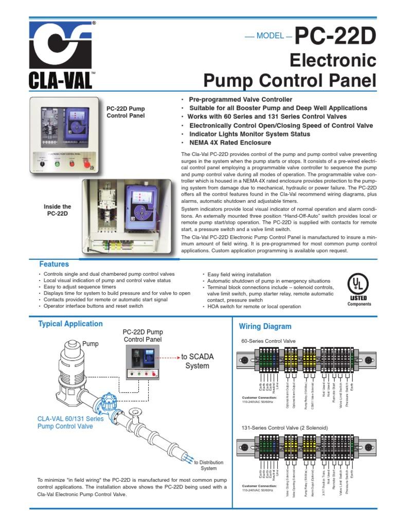Electronic Pump Control Valve Relay