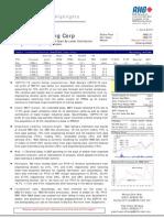Wah Seong Corp Berhad :1Q Earnings Dragged Down By Lower Contribution - 1/6/2010