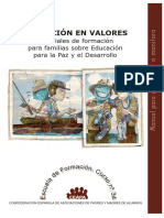 EDUCACIÓN en VALORES - Manual Para El Monitor o Monitora