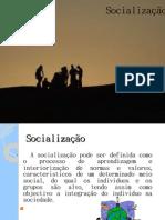 socialização.