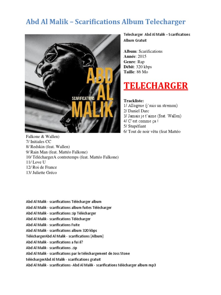 WALLEN TÉLÉCHARGER ALBUM