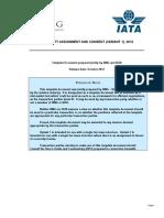 IATA Warranty