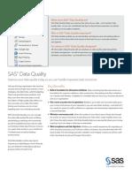 SAS Data Quality