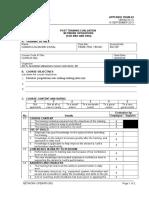 Form TRAIN-03 150913(5)