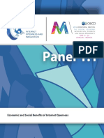 Economic and Social Benefits of Internet Openness Discussion Paper