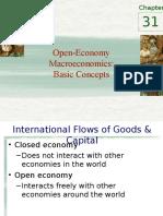 Open Economy Chapter 31 Mankiw