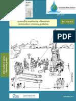 Community Monitoring of Borehole Construction