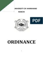 Ordinance CUJ