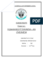 Human Rights in India - An Overview