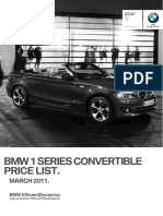 1 Series Convertible May 2011