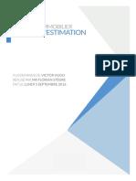 Exemple d'estimation immobilière élaborée par STEGRE IMMOBILIER