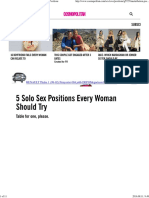 Best Masturbation Positions for Women - Solo Sex Positions