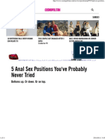 Anal Sex Positions - How to Have Anal Sex