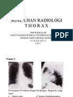Soal ujian Radiologi