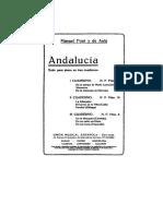 Suite Para Piano en 3 Cuadernos - Vol. 1 (Manuel Font y de Anta)