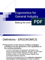 Ergonomics for Gi