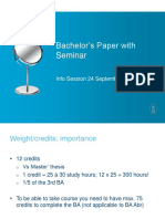 BA Paper Info Session 2015