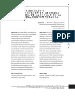 Salud enfermedad Y Cuerpo mente En La Medicina Ayurvedica.