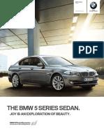 5 series Sedan Catalogue