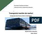 Transportul Maritim de Marfuri