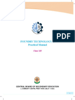 Class XII Foundry Practical Manual