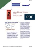 Annual Energy Outlook 2005