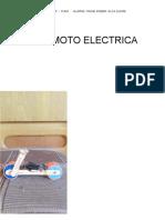 Mini Moto Electrica